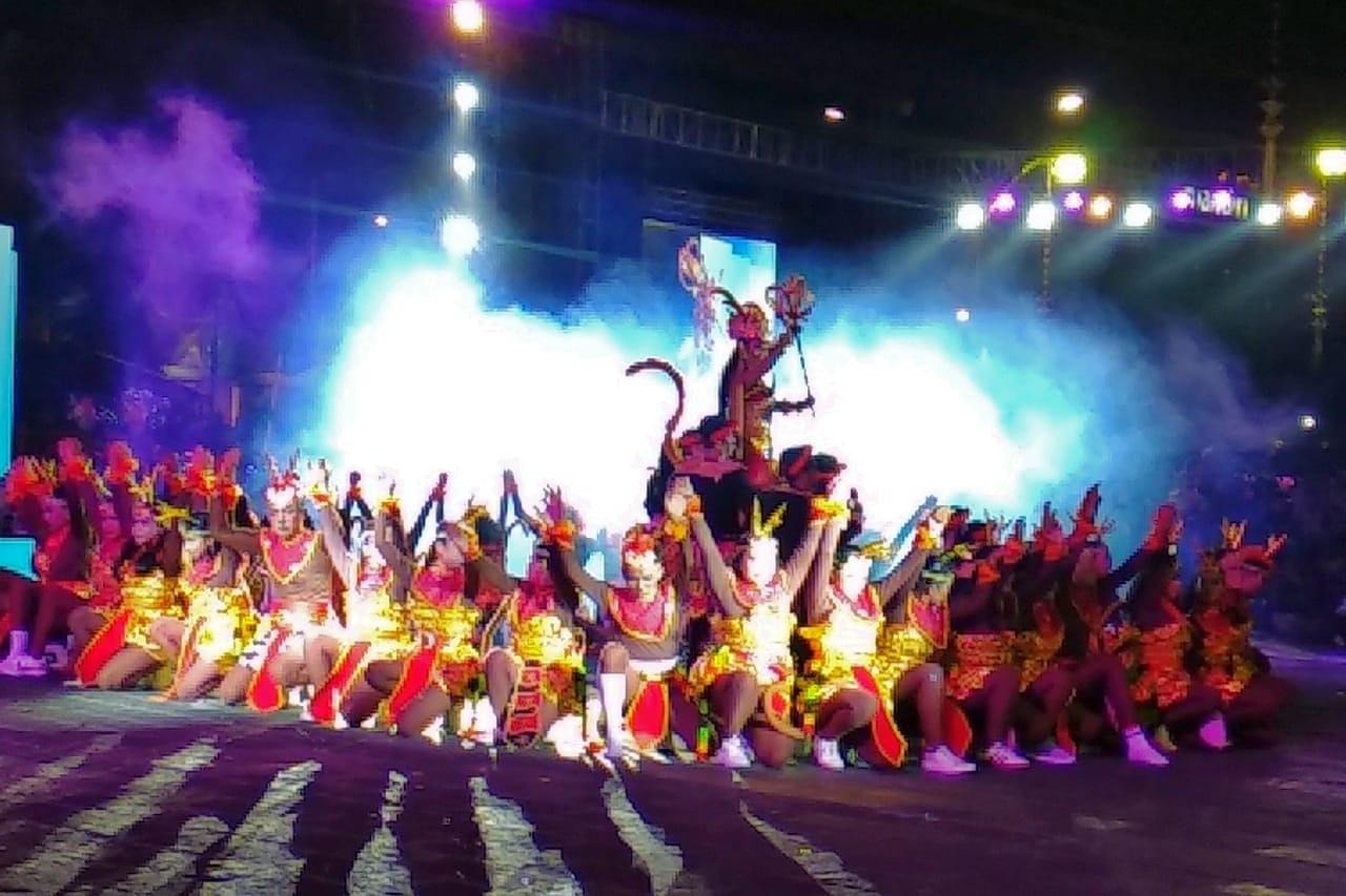 Kapi-Kapi Melintasi Sumbu Filosofis Yogya Dalam Wayang Jogja Night Carnival HUT Kota Yogyakarta ke 263