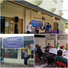 Posko Peduli Covid Kampung Gowongan Kelola dan Salurkan Bantuan Agar Terarah