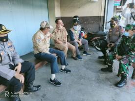 Walikota Yogyakarta melakukan Inspeksi Mendadak ( sidak ) di Pasar Tradisional Kranggan