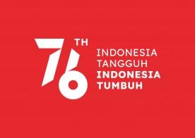 Twibon HUT Kemerdekaan RI ke-76