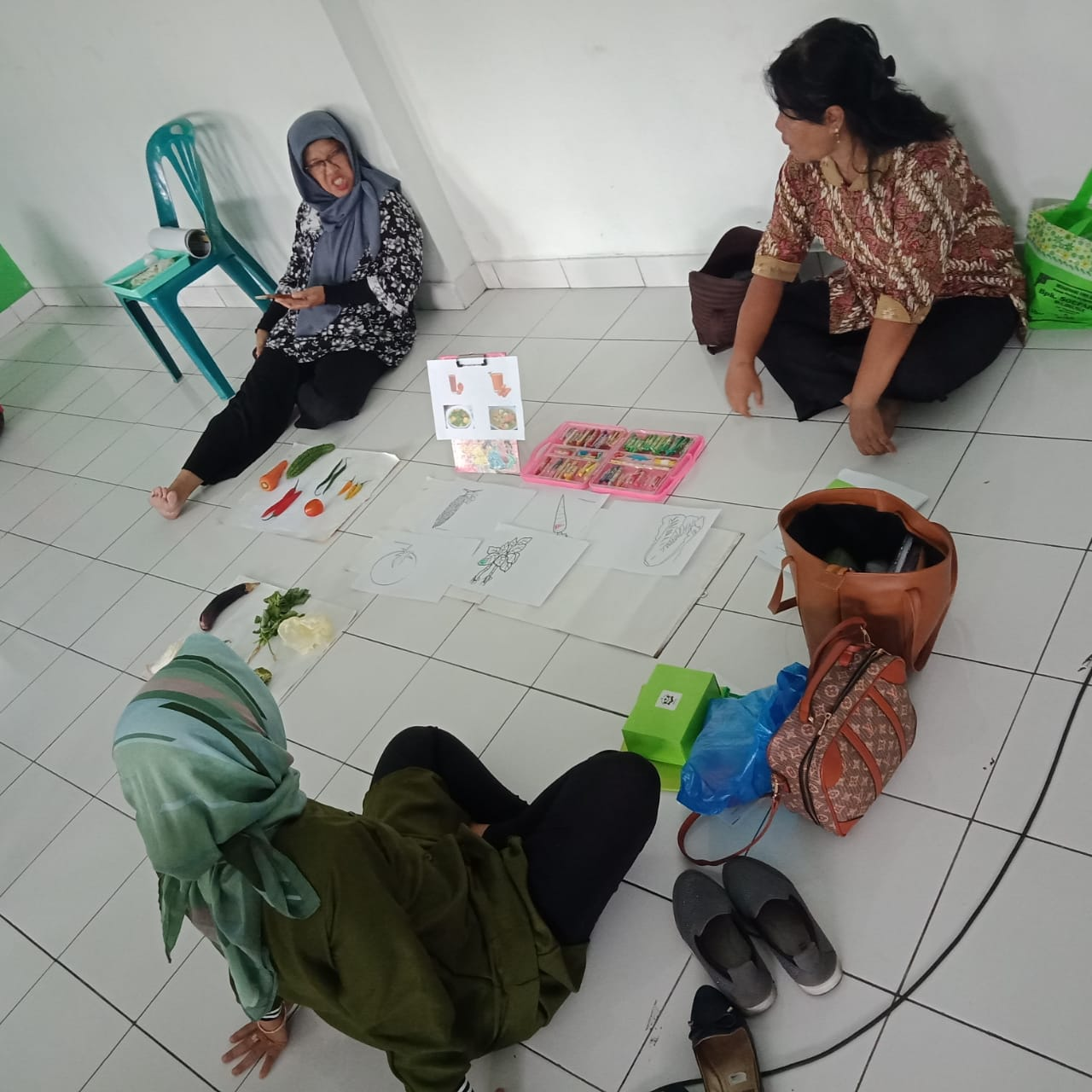 workshop paud kelurahan gowongan
